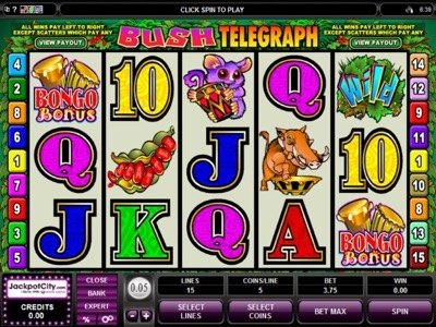 Jackpot City slot game