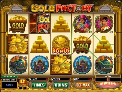 Spin Palace slot game