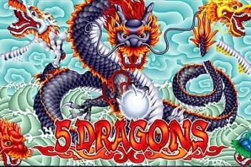 5 Dragons splash screen