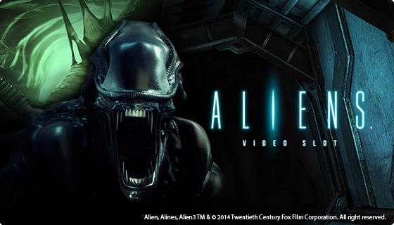 Aliens splash screen