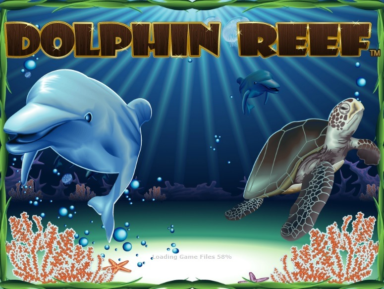 Dolphin Reef splash screen