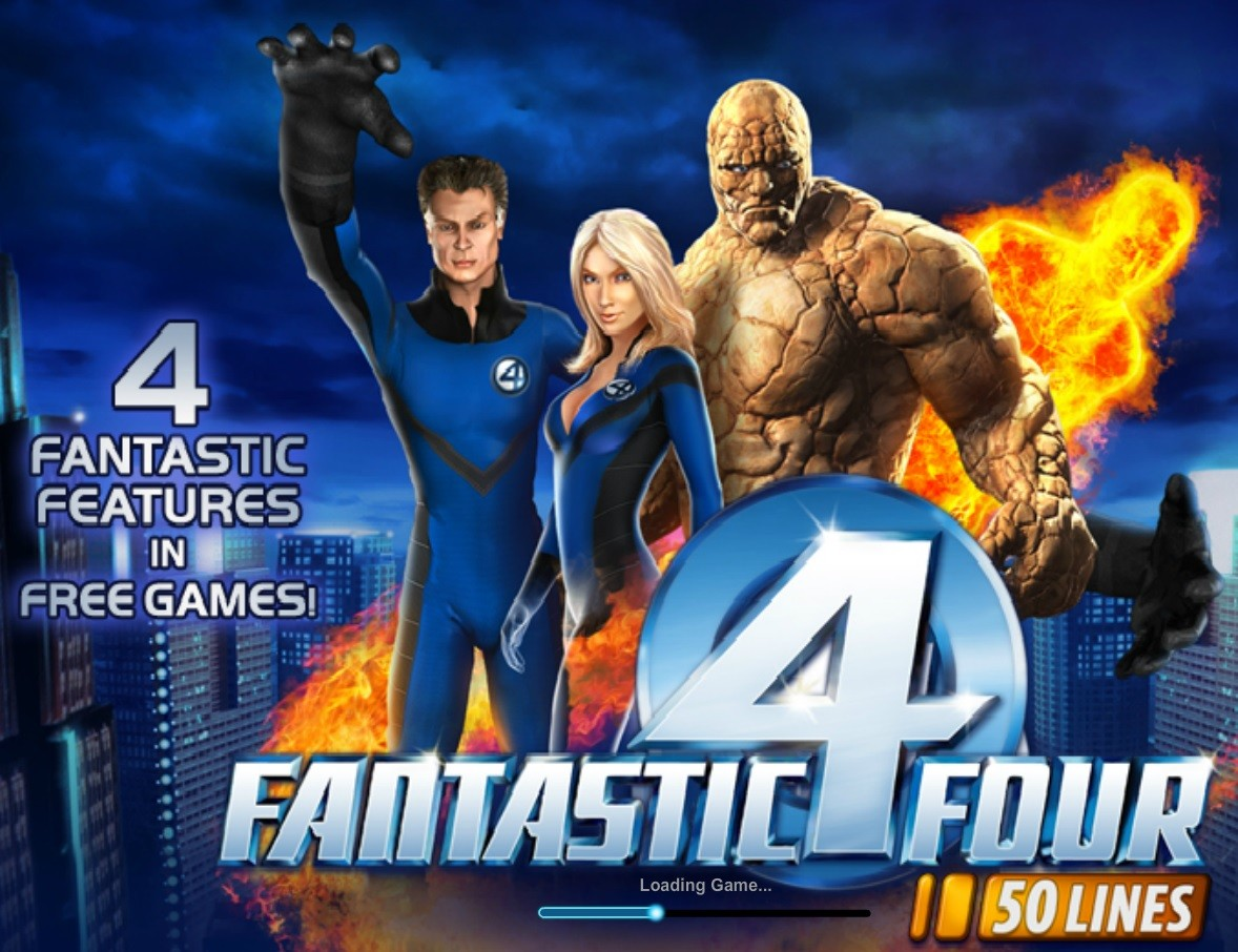 Fantastic Four splash screen