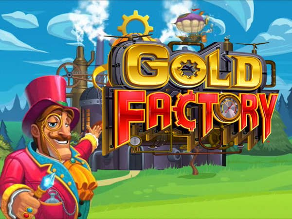 Gold Factory splash screen