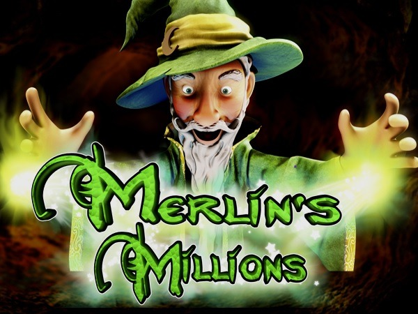 Merlin's Millions splash screen