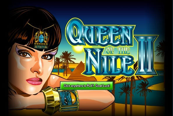 QUEEN OF THE NILE 2 splash screen