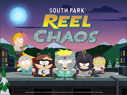 SOUTH PARK REEL CHAOS splash screen