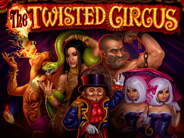 TWISTED CIRCUS splash screen